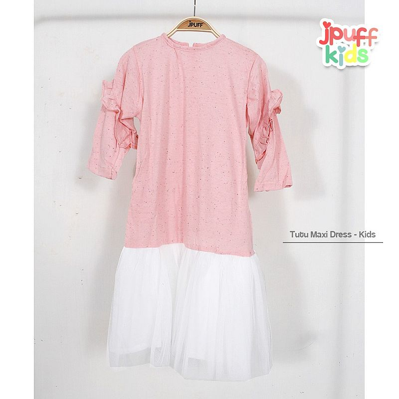 Tutu Jenna Longdress (kids) - Bintik Salem Muda