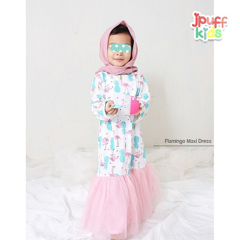 Flamingo Princess Dress (KIDS)