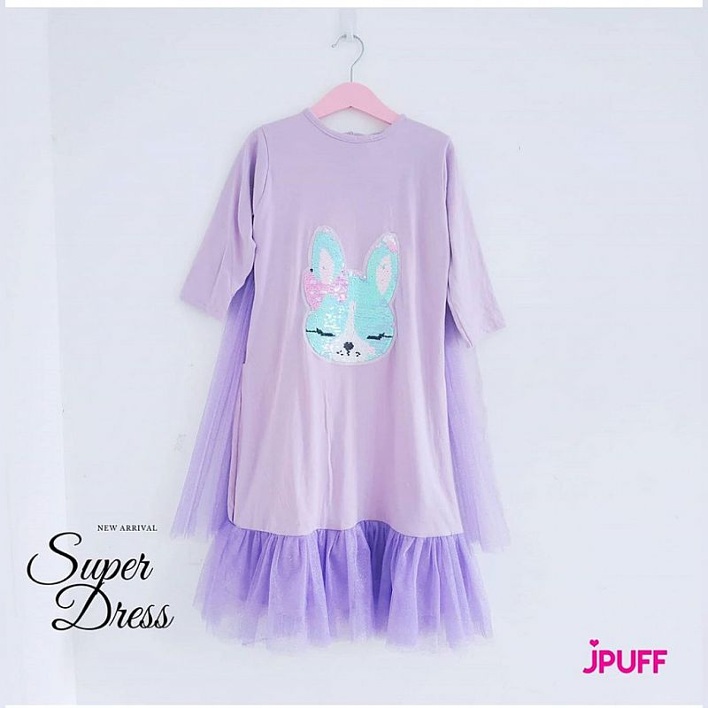 SuperDress Tutu Princess - Purple Rabbit