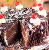 Resep Black Forest Cake Enak Lembut Jinglepuff Butik